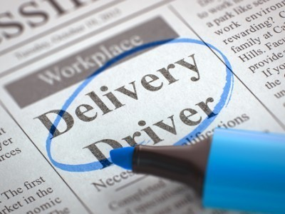 Delivery Driver Small Image Size